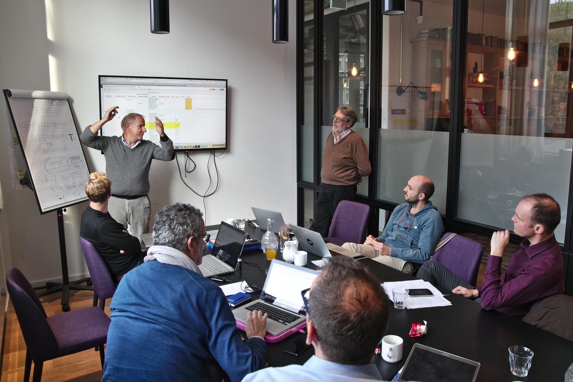 Progress on index and visualisation tool in Hamburg